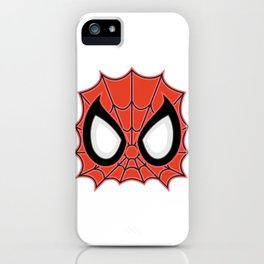 Spider Man Mask iPhone Case