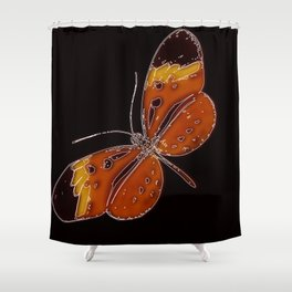 Untitled Butterfly 3 Shower Curtain