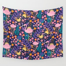 Flamingo Tropical Wall Tapestry