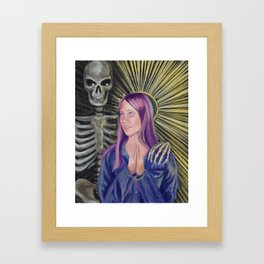 Patron Saint of Regrets Framed Art Print