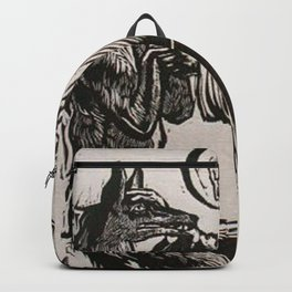 Compassion for a werewolf Backpack