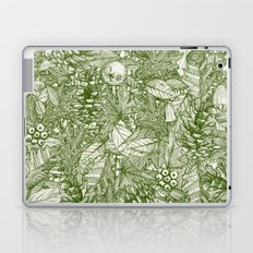 forest floor green ivory Laptop & iPad Skin