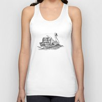black swan Tank Tops featuring Swan  by Amor et Squalore