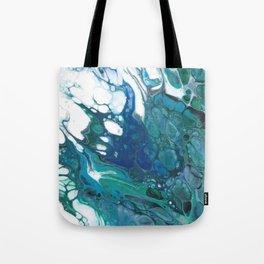 Blue Wisp Tote Bag