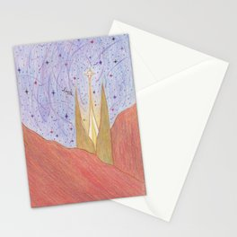 In a far away land. Stationery Cards