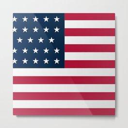 Union Side American Civil War Flag Metal Print