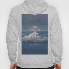 Mount Adams Mt Rainier - PNW Mountains Hoody