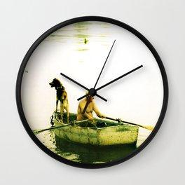 Little Harbor, Marblehead, MA Wall Clock