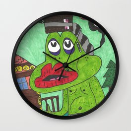 Chump Change Wall Clock