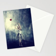 Forever chasing love Stationery Cards