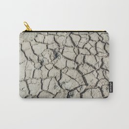 Parched land in the Regional Natural Park of Camargue Carry-All Pouch