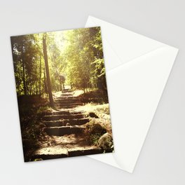 Up the Down Stairs Stationery Cards