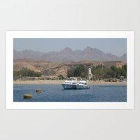 Coastal Views Art Print