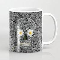 calavera Mugs featuring Calavera by AkuMimpi