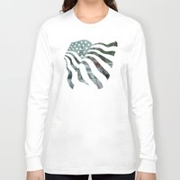 dc Long Sleeve T-shirts featuring DC Traffic by Geni