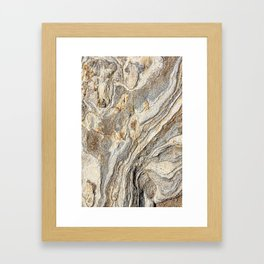 Concrete Texture Framed Art Print