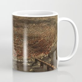 The city of St. Louis by Parsons & Atwater (1874) Coffee Mug