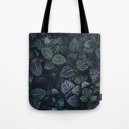 Alien Leaves Tote Bag
