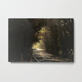 Magic Tunnel Metal Print