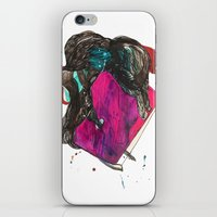 it crowd iPhone & iPod Skins featuring crowd by Zane Veldre