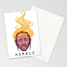Humble - Kendrick Lamar Stationery Cards