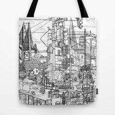 San Francisco! (B&W) Tote Bag