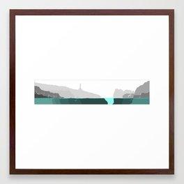 Faro Framed Art Print
