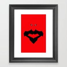 RED RED HOOD Framed Art Print