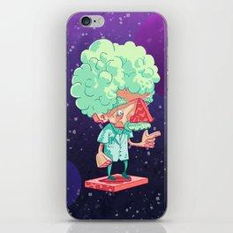 Einstein in Space iPhone Skin