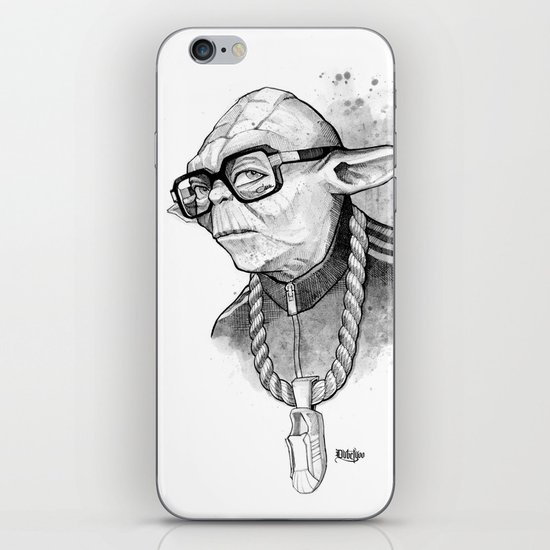 YO DMC iPhone & iPod Skin