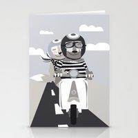 vespa Stationery Cards featuring VESPA by tonadisseny