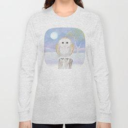 Snowy the Barn Owl Long Sleeve T-shirt