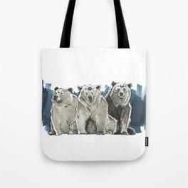 The Bear Clan Tote Bag