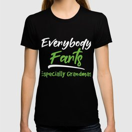 Senior Citizen T-Shirt Gift Everybody farts T-shirt