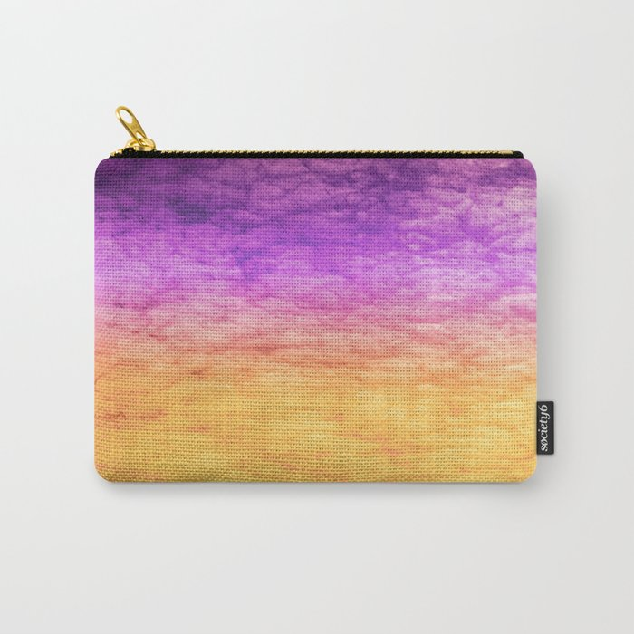 Orange and Purple Carry-All Pouch