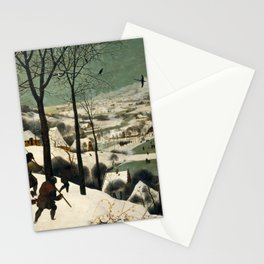 Hunters in the Snow (Winter) Stationery Cards
