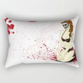 Pin-Up Ghoul Rectangular Pillow