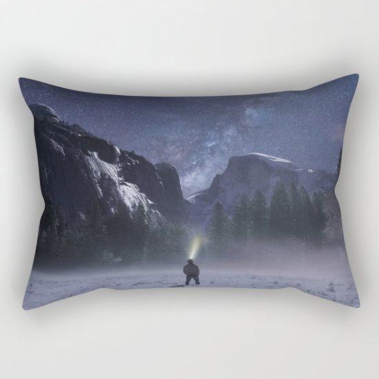 Star Gazer Midnight Rectangular Pillow