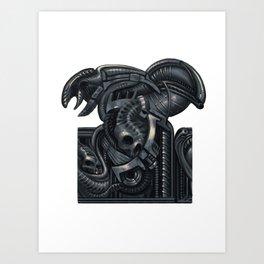 Biomechanic Art Print