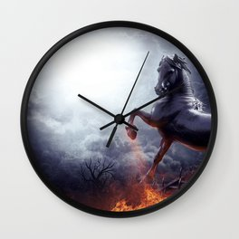 ISN'T DAWN SO SOON! Wall Clock