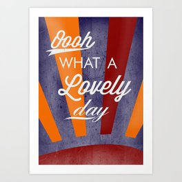 Fitz's Day Of Loveliness Art Print