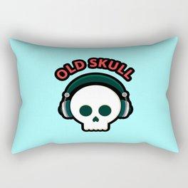 Old Skull Rectangular Pillow