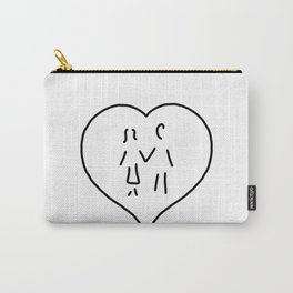 huglovers married couple wedding Carry-All Pouch