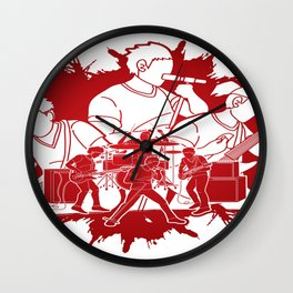 Big Band Wall Clock