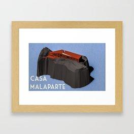 Casa Malaparte Framed Art Print