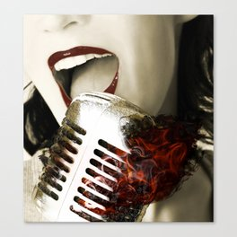 The Power Of Music... Canvas Print