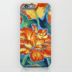 Orange Cosmos Slim Case iPhone 6s