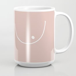 peach boobs Coffee Mug