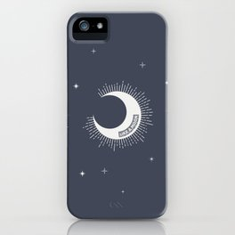 Like a moon iPhone Case