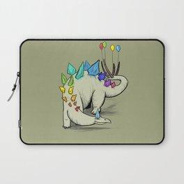 Stegosaurus Rainbow Party Dino  Laptop Sleeve